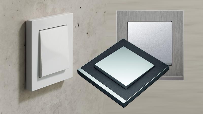 m pure merten system m. Black Bedroom Furniture Sets. Home Design Ideas